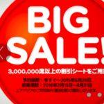エアアジアがBIG SALE開催中!ジャカルタ往復約26,000円、乗継ぎ路線もオススメ!6/28まで