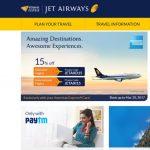 Jet Airwaysの航空券を購入したので予約番号PNRの見つけ方、機内食リクエストの方法など
