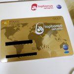 エアベルリン「topbonus」のステータスマッチで手に入れたゴールドカードが届いた