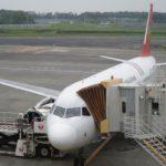 トランスアジア航空GE605便 NRT – TPE