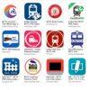 インド鉄道の遅延、運行状況、シートマップ確認する:アプリ編